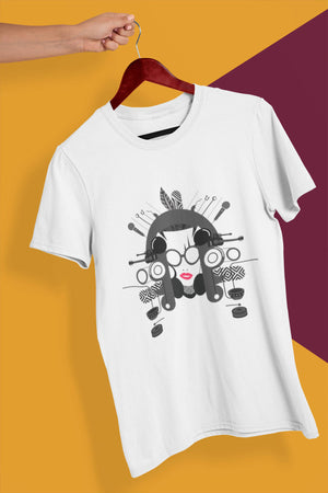 North East Music - White Round Neck T-Shirt - Stycon