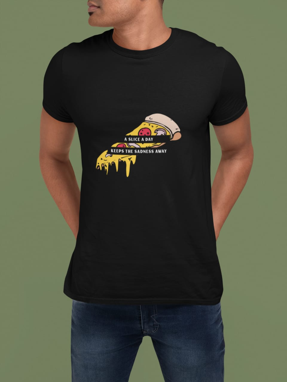 A slice a day-Graphic T-shirt