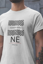 Warrior Spirit - North East - White Round Neck T-Shirt - Stycon