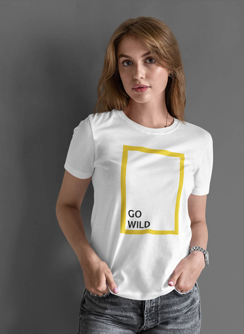 Go Wild Printed T- shirt- GFX Feed