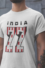 North East India - Seven Sisters - White Round Neck T-Shirt - Stycon