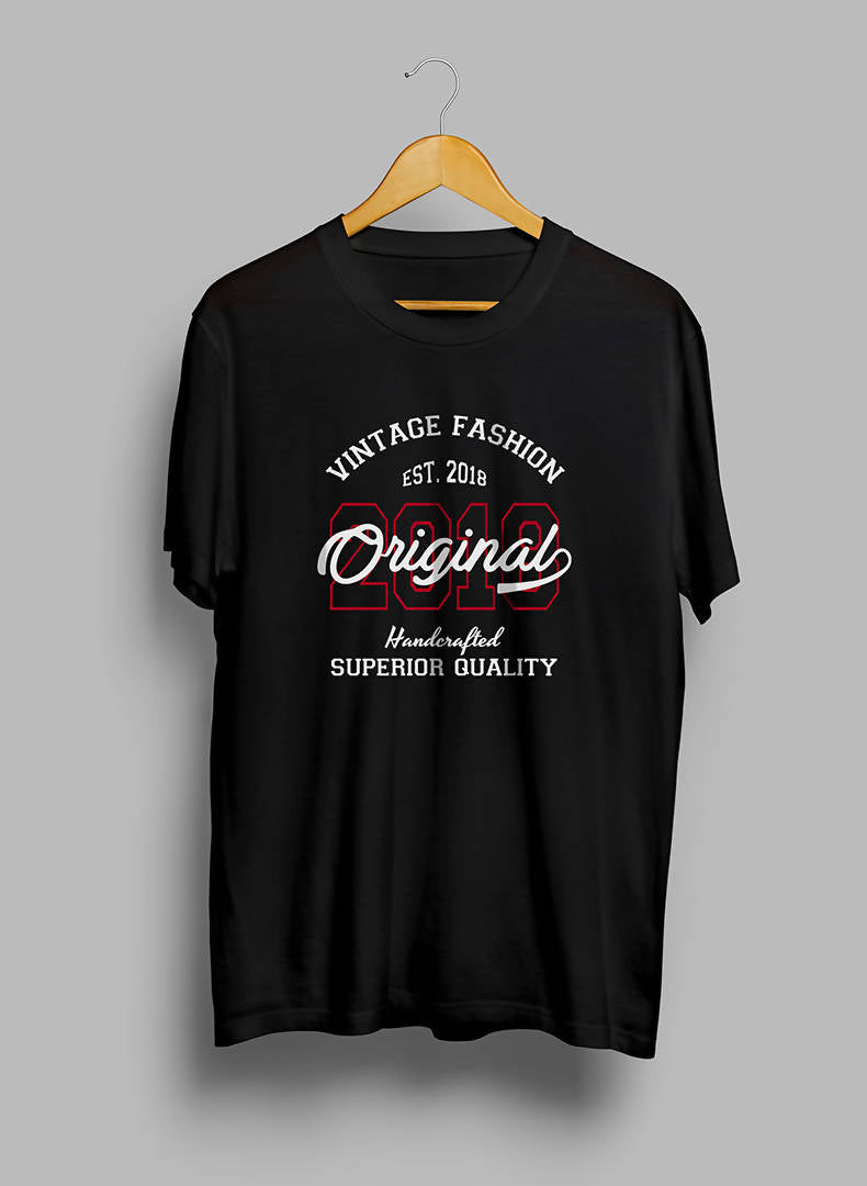 Vintage Fashion Printed T- Shirt- GFX Feed