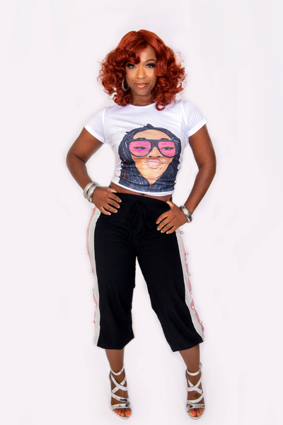 Game Face Lady Tee