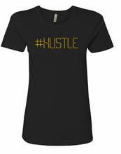 Load image into Gallery viewer, #Hustle Signature Logo Lady Tee