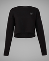 MRS.MARLISA Crop Sweater - black - blogger and brands