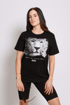asfes LEOPARD Shirt black - blogger and brands