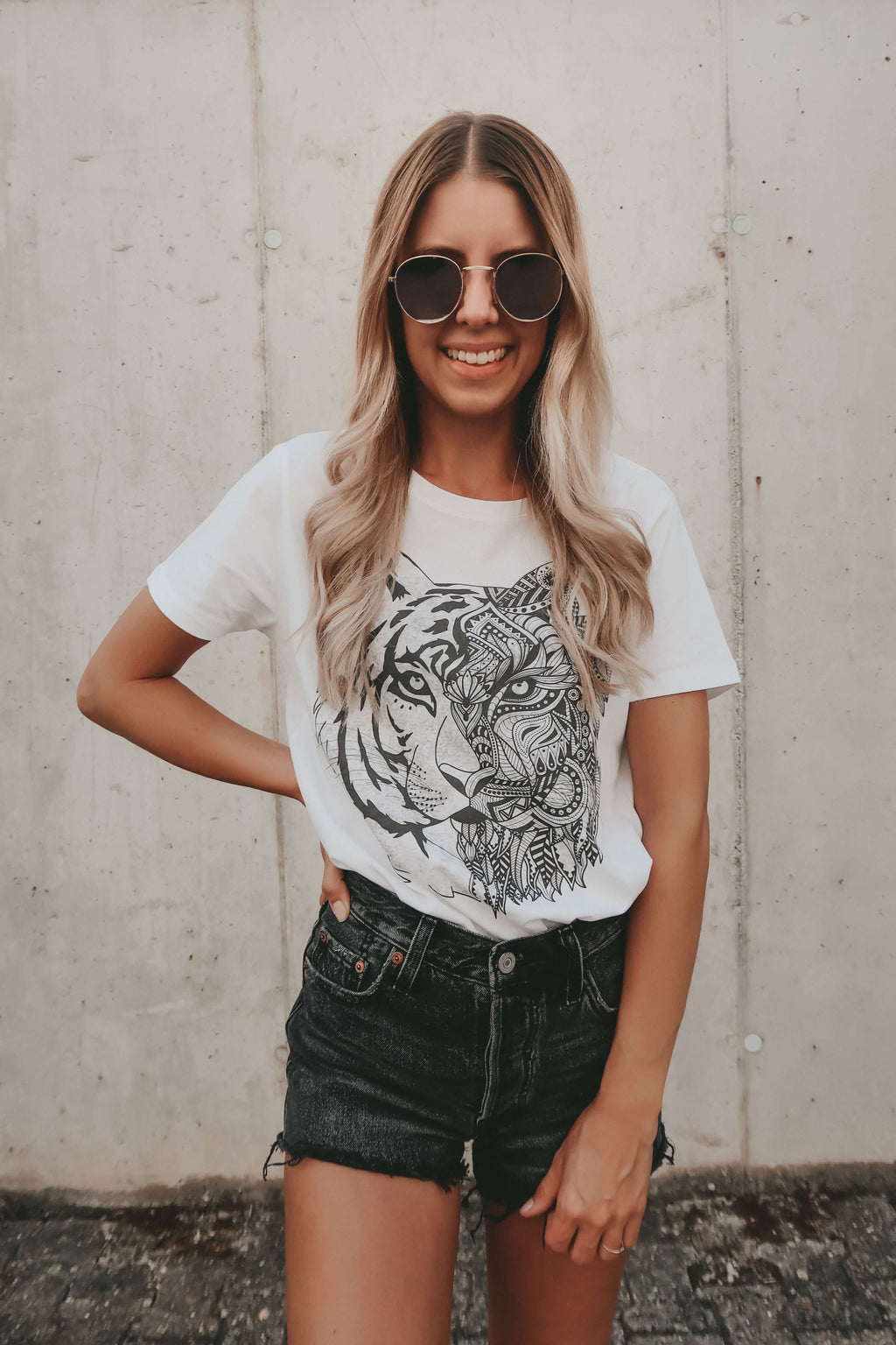 TIGER Shirt - white - blogger and brands