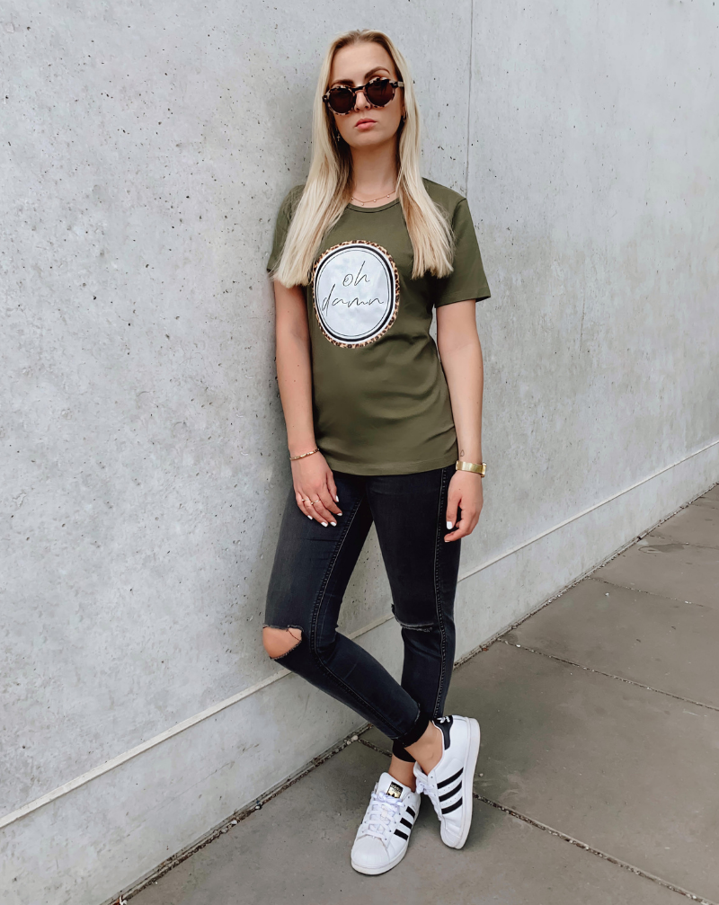 OH DAMN - khaki - blogger and brands