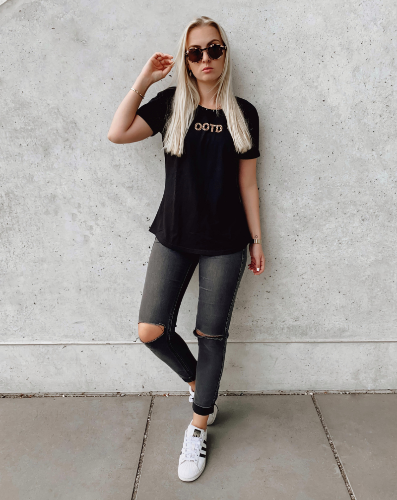 OOTD - black - blogger and brands