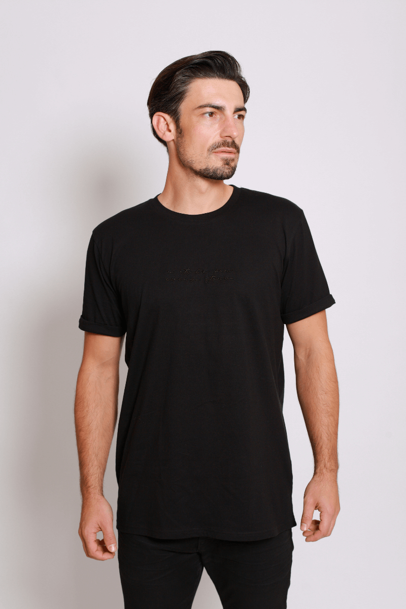 asfes Shirt black - blogger and brands