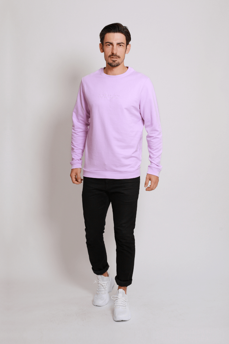 asfes Sweater purple - blogger and brands