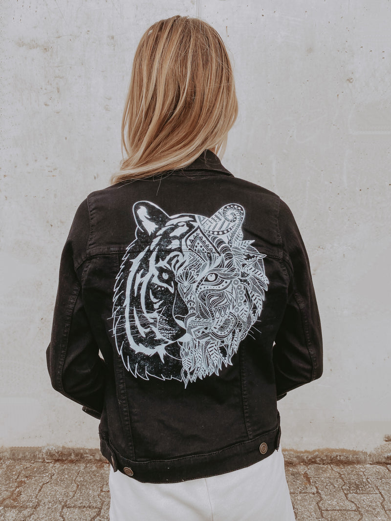 TIGER Jeansjacke - black - blogger and brands