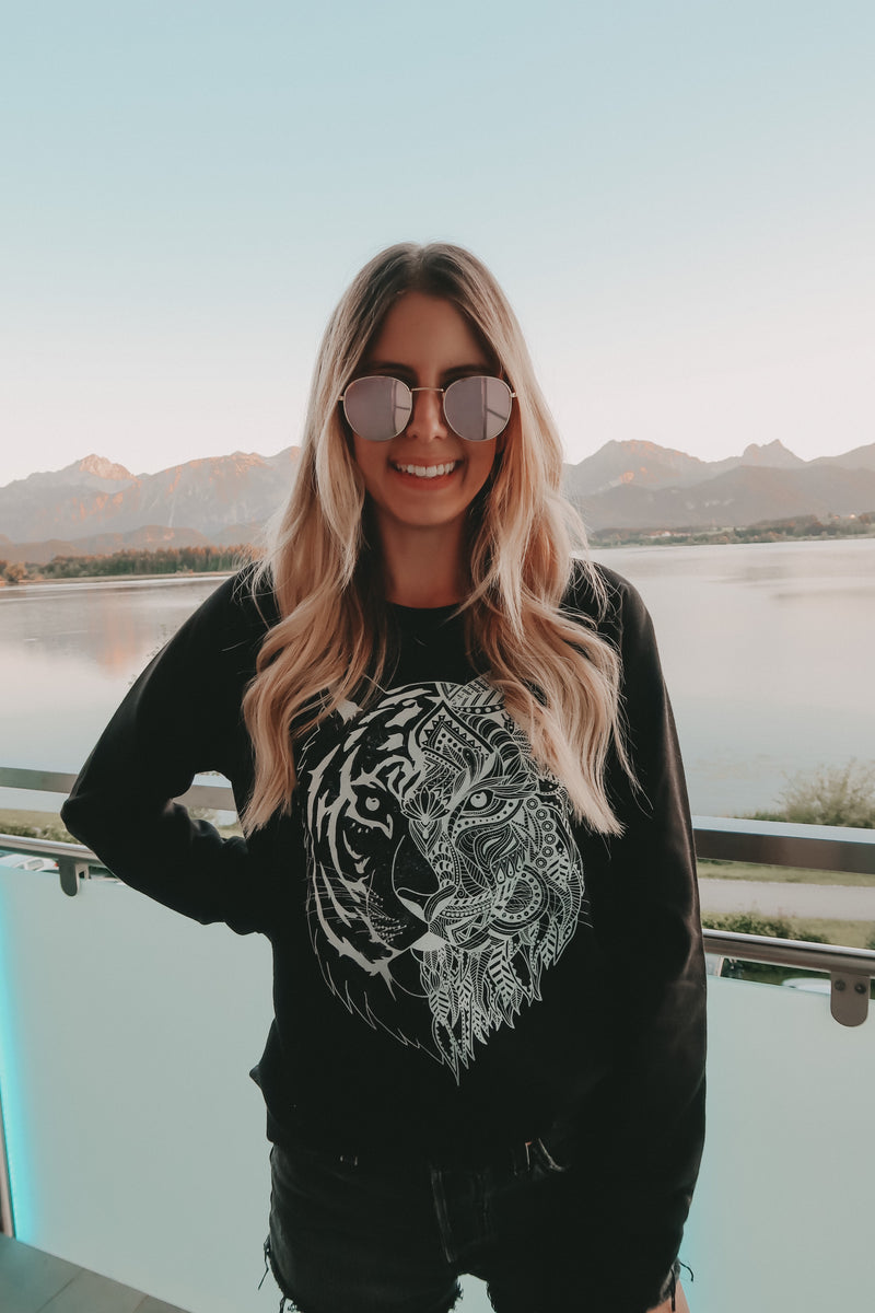 TIGER Sweater - black - blogger and brands