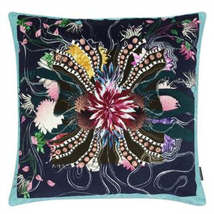 Ocean Blooms Ruisseau Cushion, Maison Christian Lacroix Collection for Designers Guild