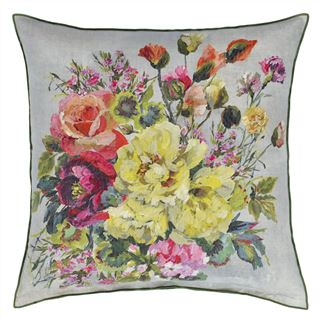 Grandiflora Rose Epice Cushion, New Collection from Designers Guild