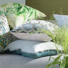 Load image into Gallery viewer, Brera Lino Ocean & Celadon Cushion, New Collection from Designers Guild