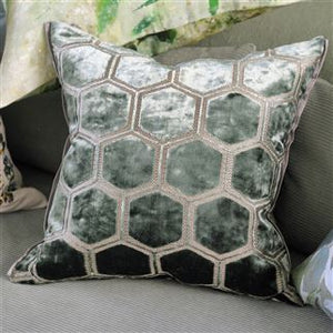 Manipur Jade Cushion, New Collection from Designers Guild