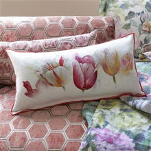 Load image into Gallery viewer, Tulip Garden Azalea Cushion, New Collection from Designers Guild
