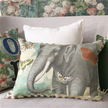 Load image into Gallery viewer, Elephant's Trunk Sky Cushion, John Derian Collection for Designers Guild
