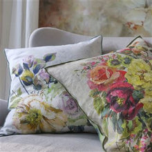 Load image into Gallery viewer, Grandiflora Rose Epice Cushion, New Collection from Designers Guild