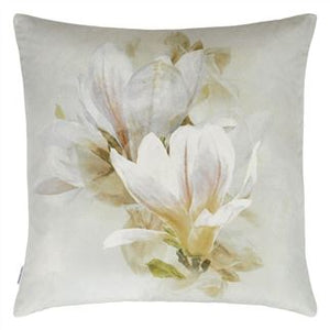 Yulan Birch Velvet Cushion, by Designers Guild
