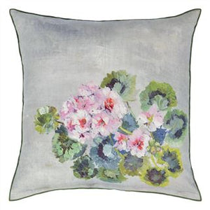 Grandiflora Rose Epice Linen Cushion, from Designers Guild
