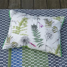 Load image into Gallery viewer, Outdoor Acanthus Moss Cushion from Designers Guild