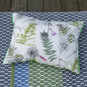 Outdoor Acanthus Moss Cushion from Designers Guild
