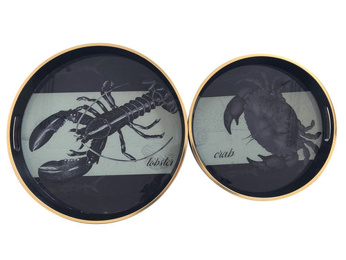The Crab Tray, round