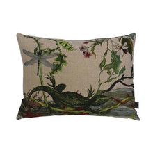 Load image into Gallery viewer, Lizard Linen Cushion by Timorous Beasties