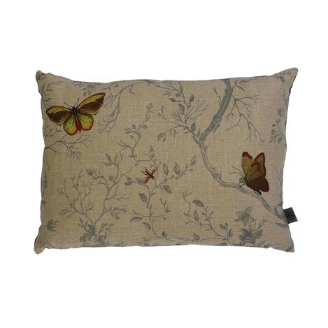 Butterflies Linen Cushion by Timorous Beasties