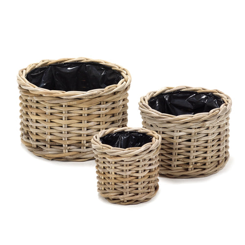 Round Basket set/3