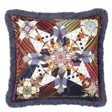 Load image into Gallery viewer, Do You Speak Lacroix? Multicolour Cushion, New Collection from Maison Christian Lacroix for Designers Guild