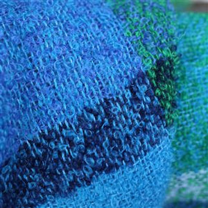 Langton Cobalt Wool Throw, New Collection from Designers Guild