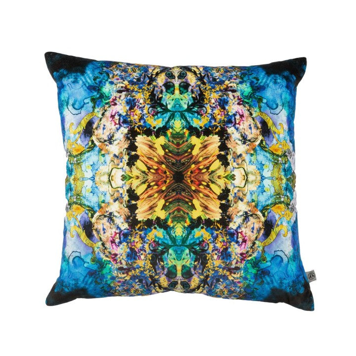 Marble Damask Cushion by Timorous Beasties