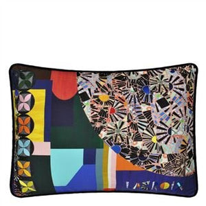 Mosaic Freak Multicolour Cushion, New Collection from Maison Christian Lacroix for Designers Guild