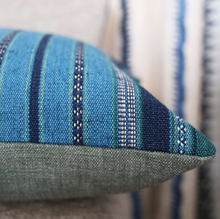 Load image into Gallery viewer, Almacan Peacock Cushion by William Yeoward for Designers Guild