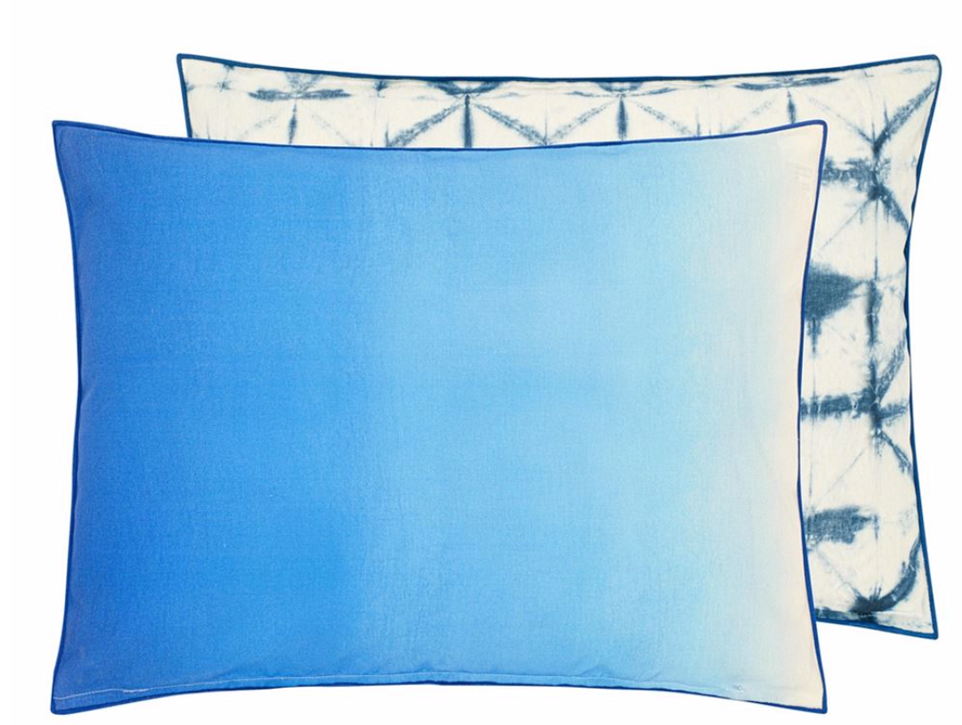Outdoor Padua Cobalt Cushion from Designers Guild