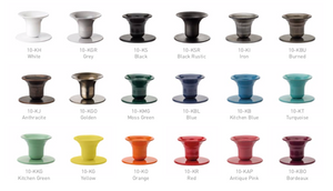 Mini Bell Candlestick Holder, ø1.3cm (various colours)