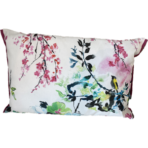 Chinoiserie Flower Outdoor Pude