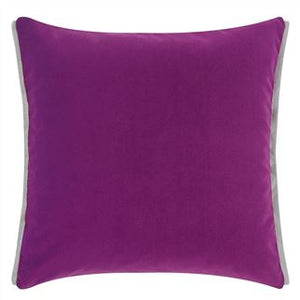 Varese Damson & Cassis Velvet Cushion, New Collection from Designers Guild