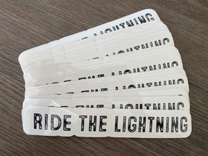 Ride The Lightning Slap