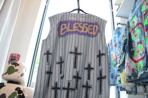 """Blessed"" Baseball Jersey"