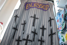 "Load image into Gallery viewer, ""Blessed"" Baseball Jersey"