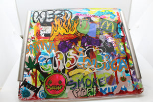 Graffiti - Resin Rolling Tray