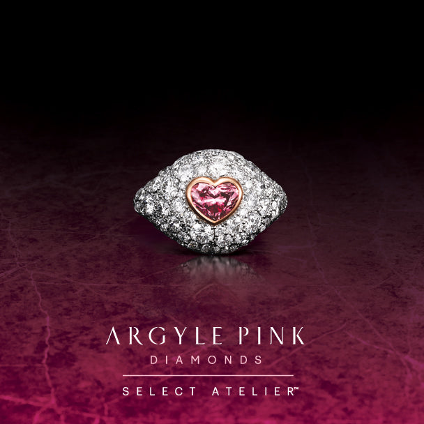 A HEARTS DESIRE - HEART SHAPED 0.96CT ARGYLE PINK DIAMOND RING