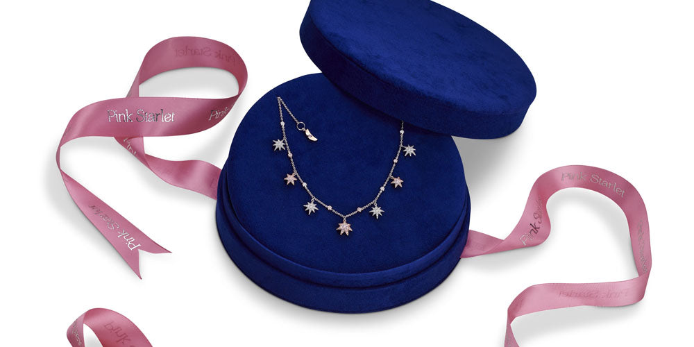 ARgyle Pink Diamond Starlet Necklace