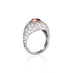 0.96CT ARGYLE PINK DIAMOND & DIAMOND HEART SHAPED RING
