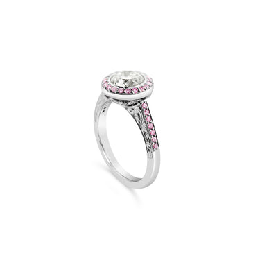 ARGYLE PINK DIAMOND AND DIAMOND