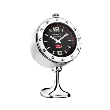 VINTAGE RACING TABLE CLOCK